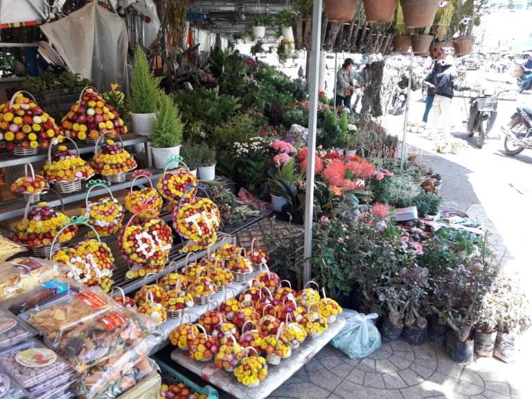 Gemüse und Obstmarkt