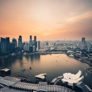 Singapur von Oben, Aufnahme aller Sehenswürdigkeiten