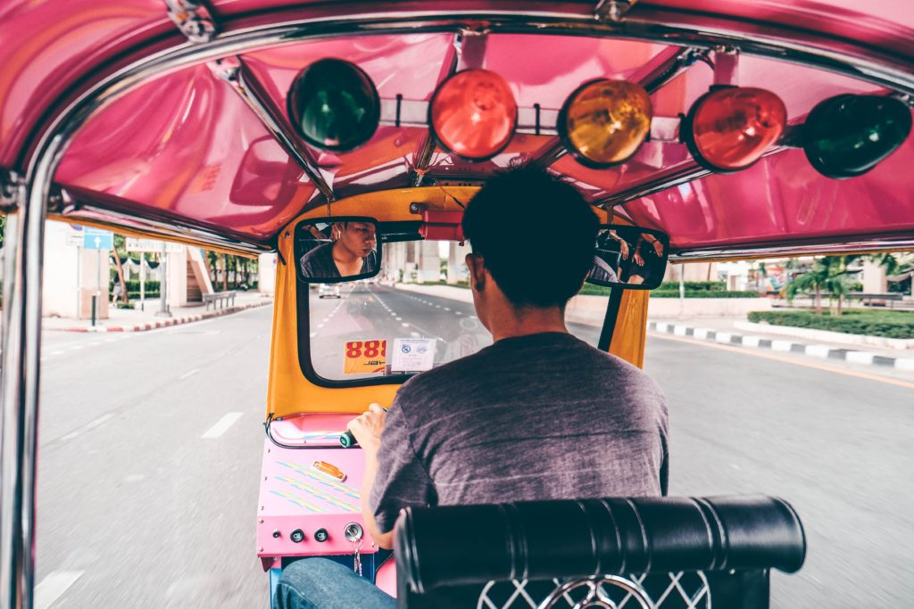 TukTuk Fahrer in Bangkok