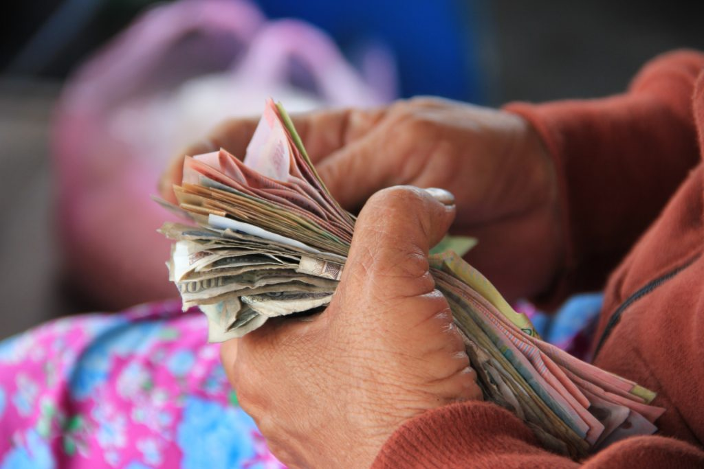 markt, asien, baht