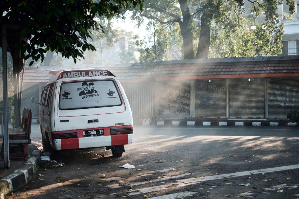 Im Ausland mit dem Krankenwagen unterwegs